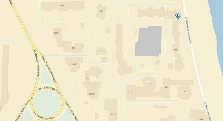 Карта проезда к Салону Элитного Маникюра, Киев, Героев Сталинграда, 14-б, 093 371-26-57