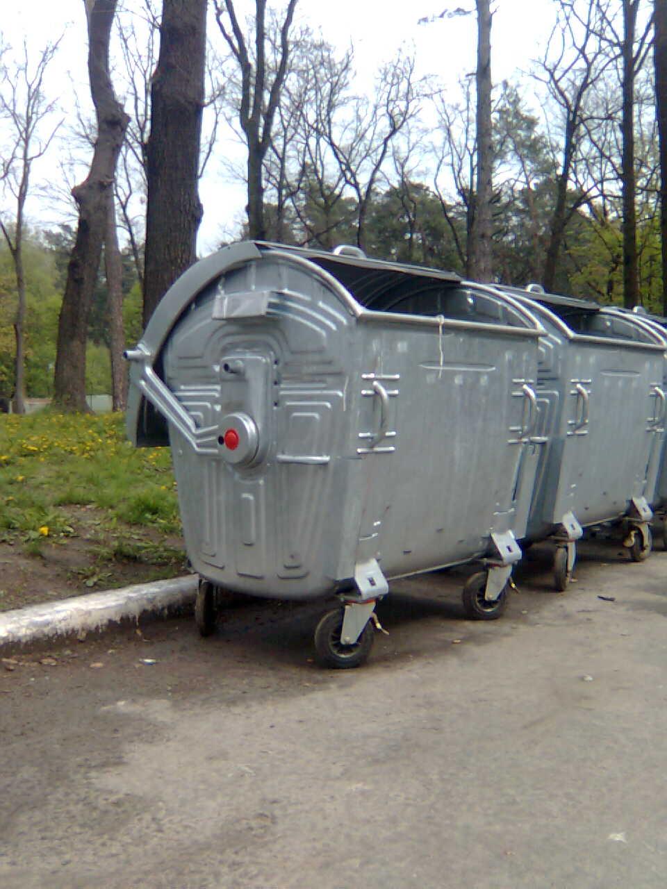 Контейнер для мусора в Киеве. Цена 3570,00 грн.  044 578-25-48