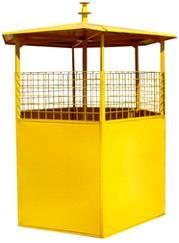 Шестигранный металлический бак для раздельного сбора ТБО. Цена 4150,00 тел. 044 578-25-48