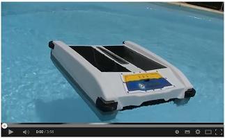 Робот для очистки поверхности бассейна Solar Breeze